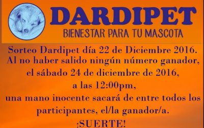 SORTEO DE NAVIDAD DARDIPET 2016