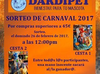 Sorteo Dardipet, Carnaval 2017