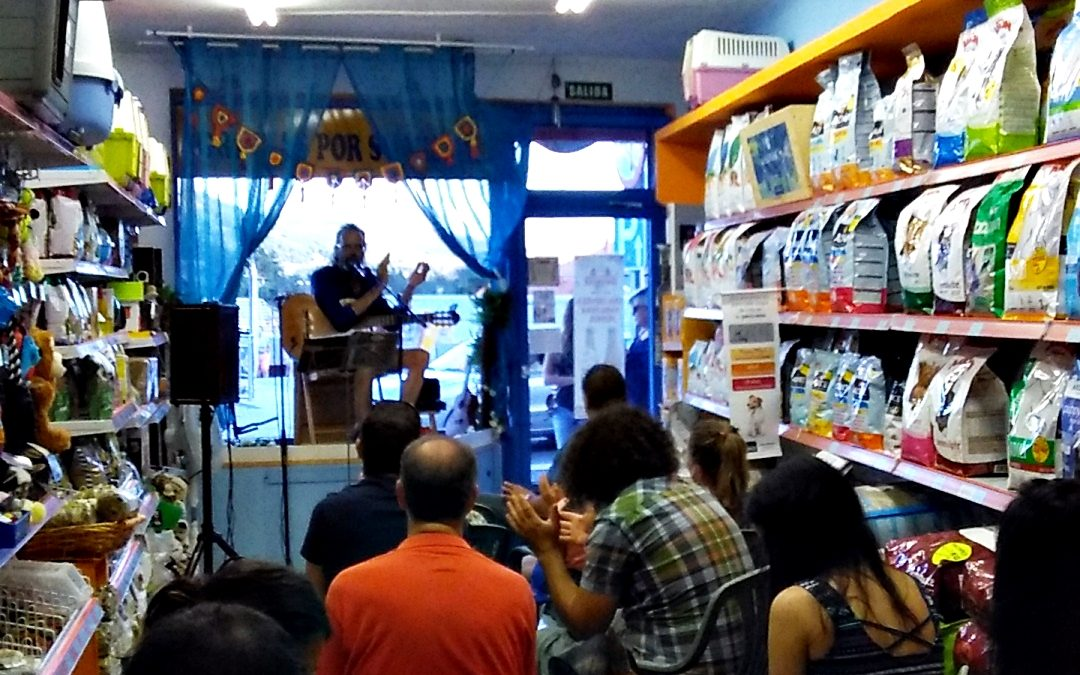 Glenn Salgoud, de concierto en  Dardipet!